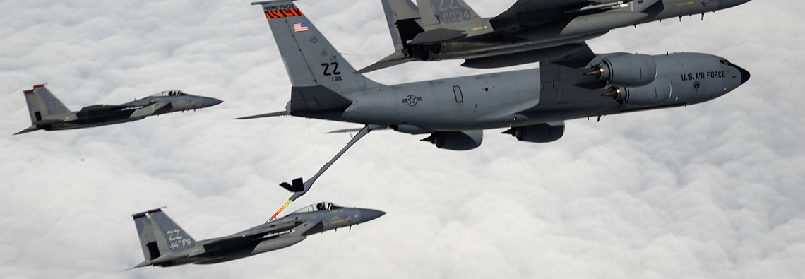 909th ARS refuels Kadena F-15s, keeps operators mission-ready
